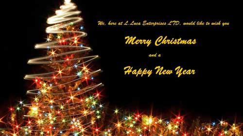 Happy Christmas Lucaent